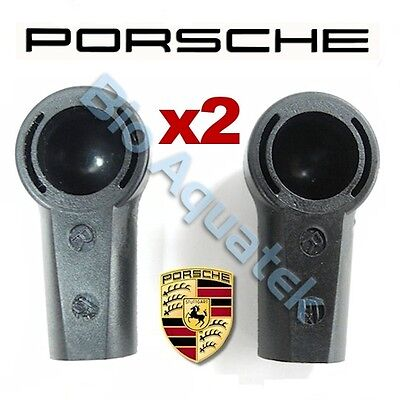 2 x Porsche Boxster / S 986 987 Convertible Roof Pushrod Plastic Ball Joint Pair