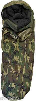 USMC 4 part  modular sleep system Bivy bag & 2 sleeping bags & stuff sack