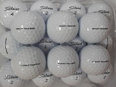 24 Titleist Nxt Tour S 2014 Model Golf Balls Pearl /grade A Lake Balls  Free P&p