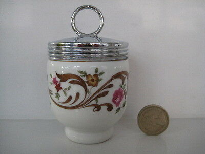 VERY RARE EARLY ROYAL WORCESTER SINGLE SIZE EGG CODDLER OLD BOURNEMOUTH....small