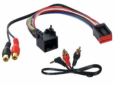Land Rover AUX adapter lead 3.5mm jack in car radio iPod MP3 adaptor CTVLRX003 z