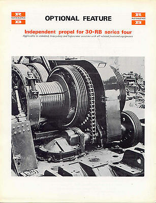 30-RB series four Optional Feature Independent Propel brochure