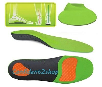 UK Orthotic Insoles Arch Support  for Plantar Fasciitis Flat Feet Back Heel Pain