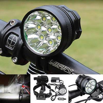 32000LM CREE T6 LED Bicycle Lamp Bike Light Headlight Waterproof Headlamp 18650