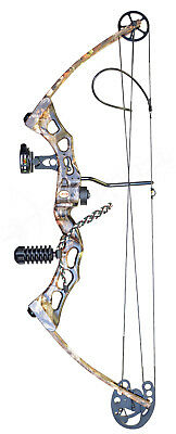 All New Hoddywell Predator 75Lb Compound Bow Package Archery Hunting Shooting