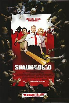 Shaun of the Dead Orig Movie Poster Dbl Sided 27x40