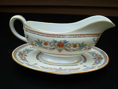 "vintage Aynsley fine bone china gravy boat England, "" DEVONSHIRE"""