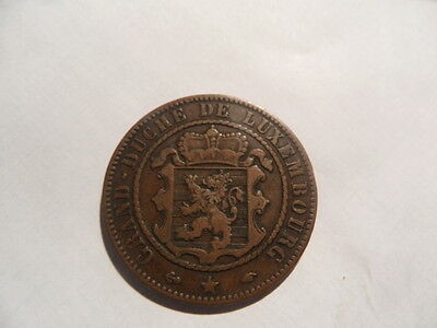 1860 Luxembourg 10 Cents!