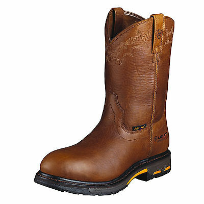 ARIAT - Men's - Workhog Pullon - Comp Toe - Golden Grizzly - 10001186 - NEW