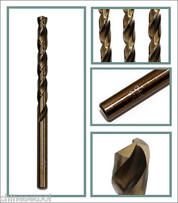 5pcs cobalt drill bit 2.1mm Co steel alloys Straight Shank Twist Drill
