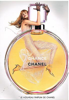 "Publicité Advertising 2003 Parfum ""Chance"" par Chanel"