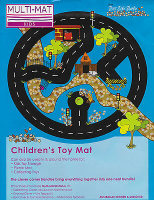 New Boys & Girls Toddler Child Activity Play Mat 1 x 1m Easily Cleaned FREE POST