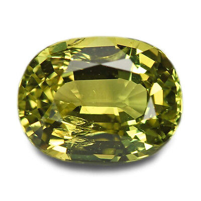 2.08 Carats Natural Chrysoberyl Loose Gemstone - Oval