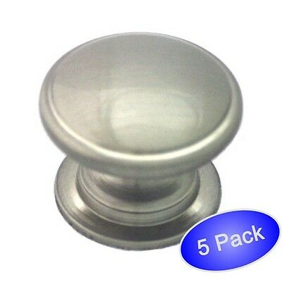 *25 Pack* Cosmas Cabinet Hardware Satin Nickel Octagon Cabinet Knobs #5181SN