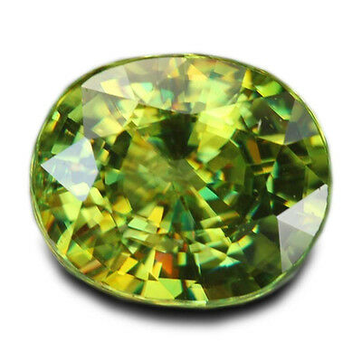 1.42 Carats Natural Madagascar Sphene Loose Gemstone - Oval