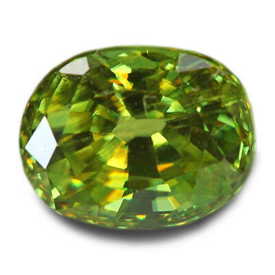 1.45 Carats Natural Madagascar Sphene Loose Gemstone - Oval