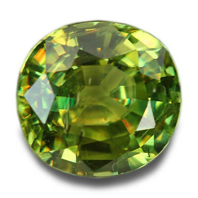 1.63 Carats Natural Madagascar Sphene Loose Gemstone - Oval
