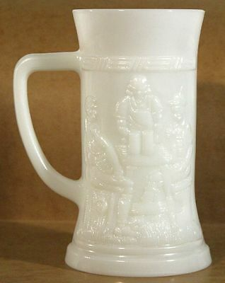 Milk Glass Stein
