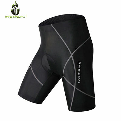 New Men's Bike Bicycle Cycling Shorts 3D Padded Riding Sports Pants Size S-3XL