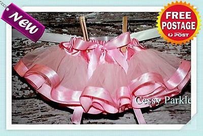 Girls Ballet 3 Layers Tutu Dancing Skirt Fairy/Princess Dress Up Party Costume