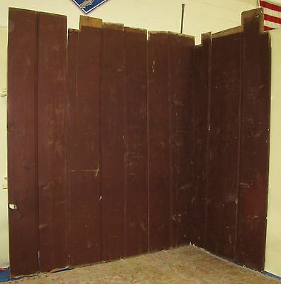 Antique Painted Kitchen Wooden Wall Boards from 1735 Shipping Available