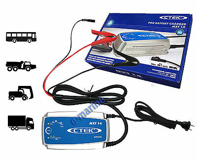CTEK MXT 14 Battery Charger 24V Truck Wheel loader dump bus 56-734