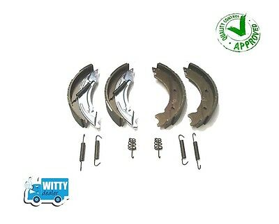 Trailer Brake Shoes 200x50 Ifor Williams Kit Knott Type Axle Set Ece 90