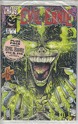 Evil Ernie Plus Pack #13 und #14  Chaos Comics 04/1999