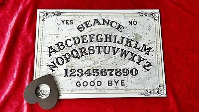 Acrylic Magic Celestine Angels Seance Ouija Board & Planchette Ghost Witch Weeja