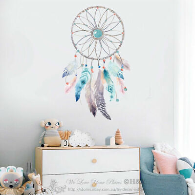 Dreamcatcher Dream Catcher Wall Sticker Nursery Decor Decal Kids Art Mural