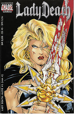 "Lady Death "" Alive "" #1 von 4 Chaos Comics"