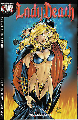 "Lady Death "" Alive "" #2 von 4 Chaos Comics"