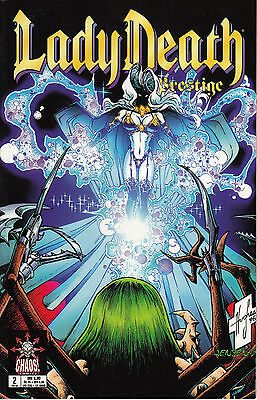 Lady Death  Prestige #2  Chaos Comic 02/99