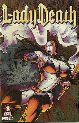 Lady Death #1 Chromium  Chaos Comics 04/98