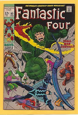 Fantastic Four #83 VF Stan Lee Jack Kirby