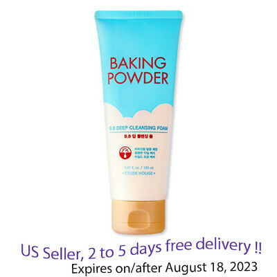 Etude house Baking Powder BB Deep Cleansing Foam 150ml, US Seller 2 to 5 deliver