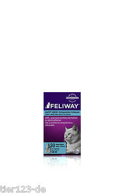 10 x Feliway Happy Home Nachfüll-Flacon Refiller a 48ml  (480ml) /100ml=34,15€