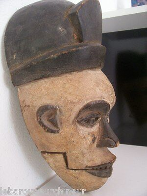 ancien Masque africain des Igbo african art premier tribal masque africain