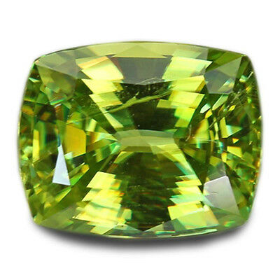 2.74 Carats Natural Madagascar Sphene Loose Gemstone - Cushion
