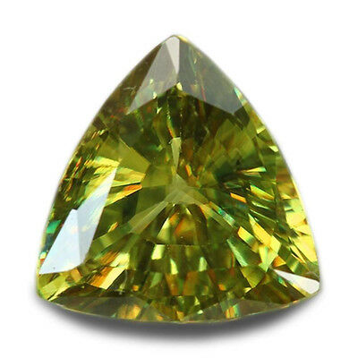 2.46 Carats Natural Madagascar Sphene Loose Gemstone - Trilliant