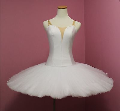 Classical Ballet tutu -- Performance quality in plain white Adult size