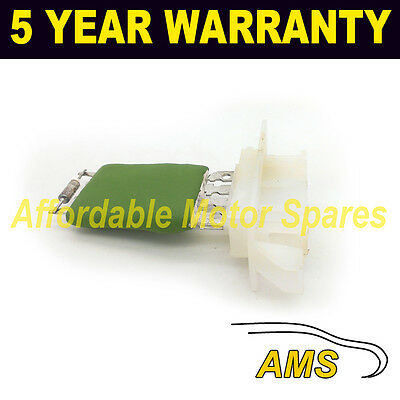 For Opel Signum Vectra Heater Blower Fan Resistor Motor Air Con Conditioning
