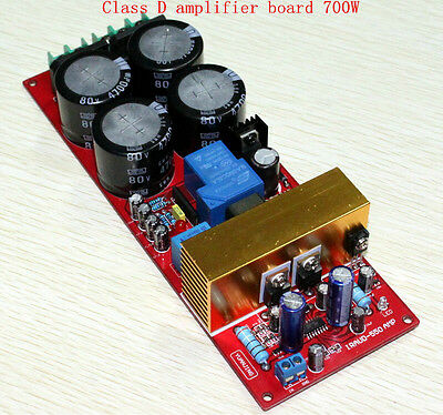 1 pc 700W 4ohm Mono IRAUD350 IRS2092 IRFB23N15D+speaker protection board