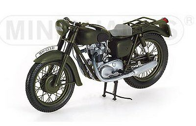 MINICHAMPS 122 133501 TRIUMPH TR6 diecast motorcycle green 1962 1:12th scale
