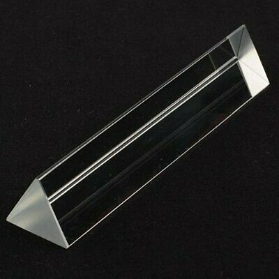 "6in"" 150mm Optical Glass Triangular Prism Teaching Light Spectrum Physics USA"