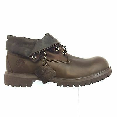 TIMBERLAND MEN'S AF Roll Top Boot Brown