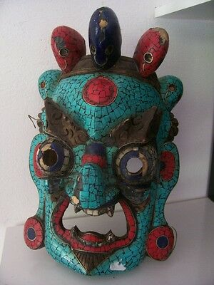 old mask. Asia