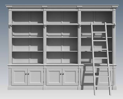 FRENCH PROVINCIAL WALL STORAGE UNIT- Make Your Own & SAVE $$$ - Full  Plans