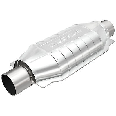 """Magnaflow 94004 Universal High-Flow Catalytic Converter Oval 2"""" In/Out"""