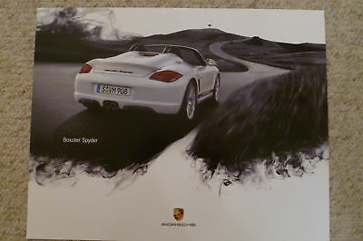 2011 Porsche Boxster Spyder Showroom Advertising Sales Poster RARE! Awesome L@@K